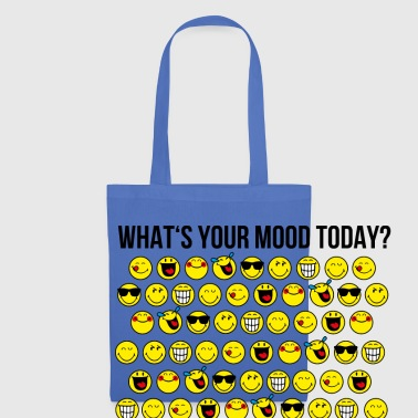 SmileyWorld Smileys What's Your Mood Today - Stoffbeutel