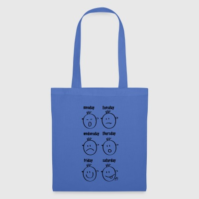 smileys Weekdays - Tote Bag