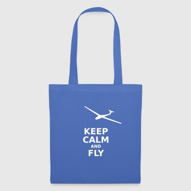 Keep calm and fly - Stoffbeutel