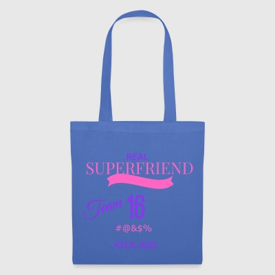 super transparent friend - Tote Bag