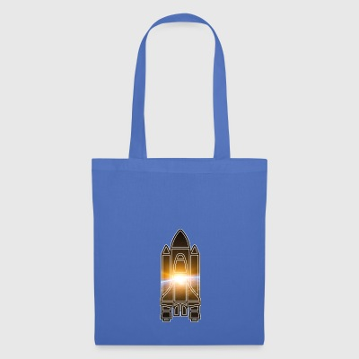 Space Shuttle - Earth - Space - Tote Bag