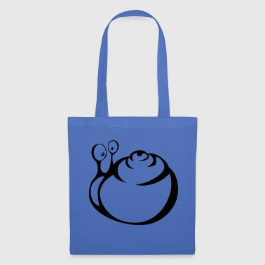 Snail black and withe - Tote Bag