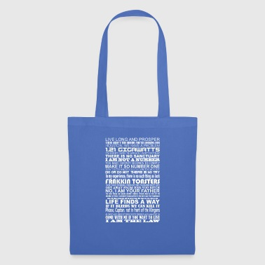 Sci Fi Quotes - Tote Bag