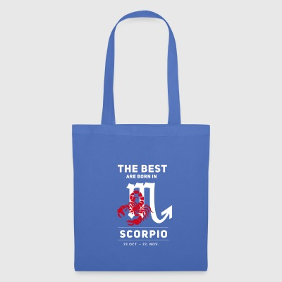 scorpion horoscope Birthday October november - Tote Bag