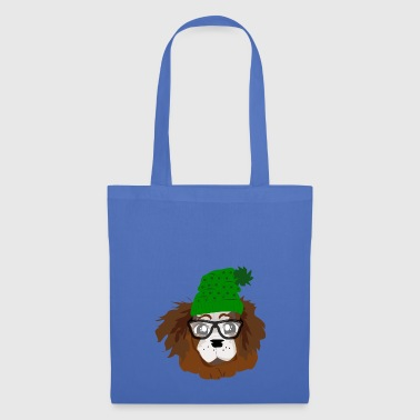NERDY LOVELY PUPPY - Tote Bag