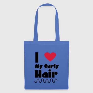 I Love My Curly Hair - Tote Bag