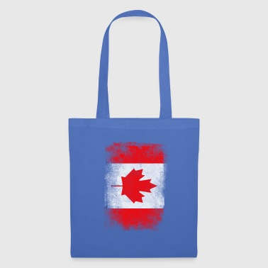 Canada Flag Proud Canadian Vintage Distressed - Tote Bag