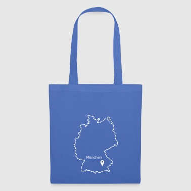 place to be: Munich - Tote Bag