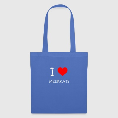I Love Meerkats - Tote Bag
