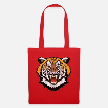 Bad Look Tiger Graphic Used Look Bad Look T-Shirt - Tote Bag