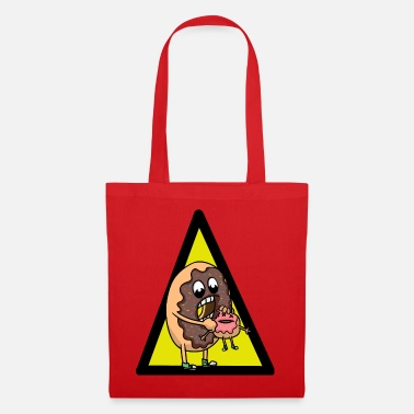 Food Donuts is a Donuts Horror Halloween - Tote Bag