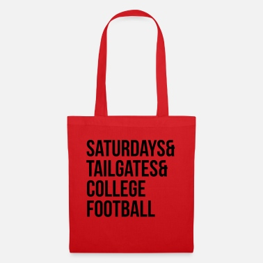 College Football Saturdays & tailgates & college football - Tote Bag