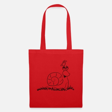 Snail funny cute - Tote Bag