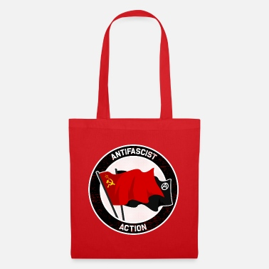 Antifascist Antifascist Action - Tote Bag
