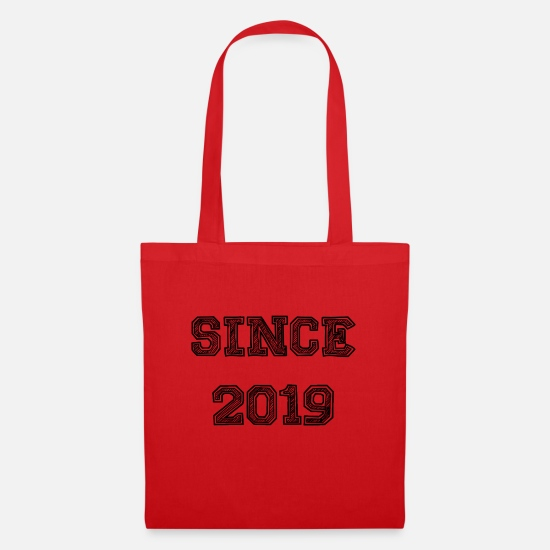 Birthday Bags & Backpacks - Since 2019 - Tote Bag red