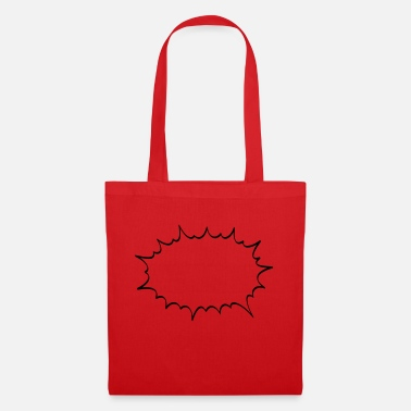 Speech Balloon bang - Tote Bag