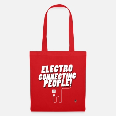 Electro connecting people! - Tote Bag