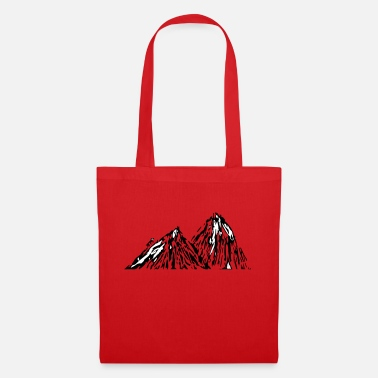 Mountain Stick Man - Tote Bag