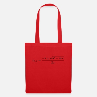 Quadrat Quadratic formula - Tote Bag