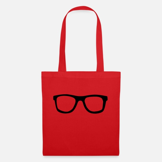 Sunglasses Bags & Backpacks - sunglasses - Tote Bag red