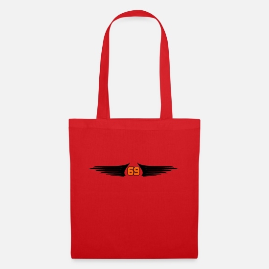 Wing Bags & Backpacks - Wing Wings - Tote Bag red