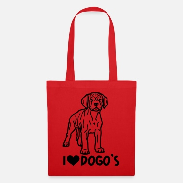 Tribal argentino dogo © www.dog-power.nl - Tote Bag