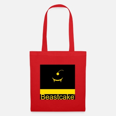 Funky Beastcake logo yellow black - Tote Bag