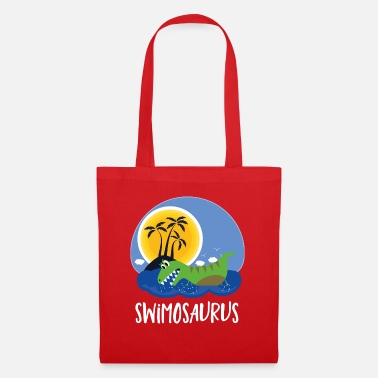 Baby Funny swimmer swimming shirt kids gift - Tote Bag