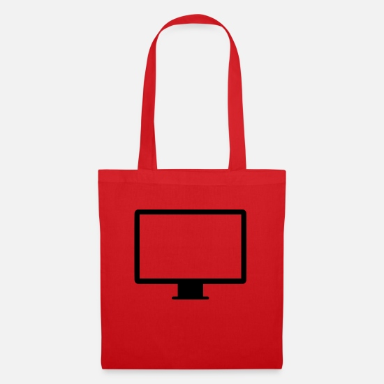 Computer Bags & Backpacks - PC - Tote Bag red