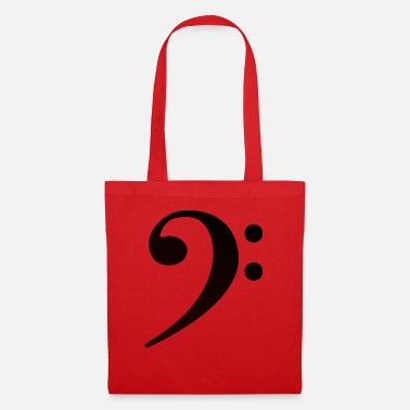 Bass Clef Bass Clef Bass Clef - Tote Bag