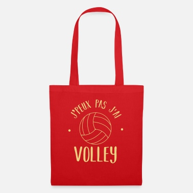 I can not volley - Tote Bag