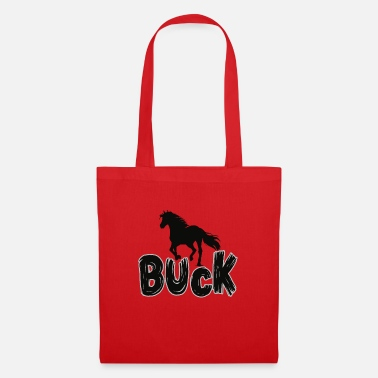 Cowboy Buck the horse - Tote Bag