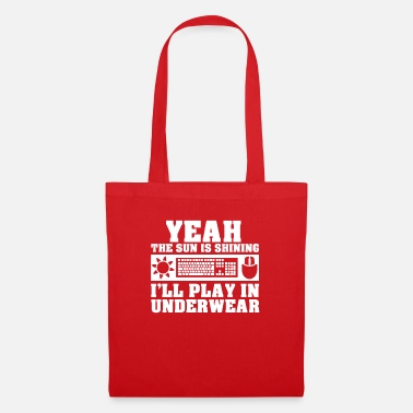 Video Underwear Gamer Gaming Summer Sun Underwear Gift - Tote Bag