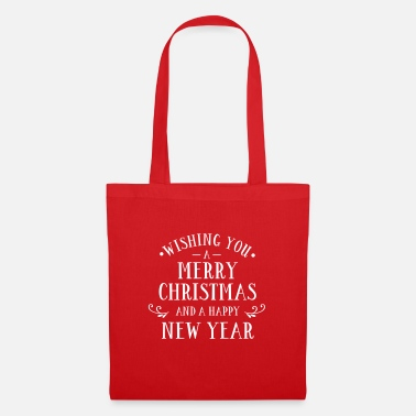 Cookie I wish you a Merry Christmas and egg - Tote Bag