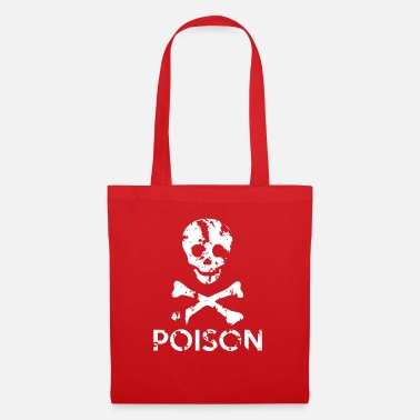 Grungy Grungy Warning Sign – Poison - Tote Bag