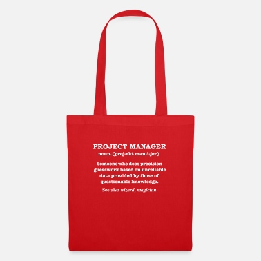 Project Manager Definition Project Manager Magician Definition Graduate - Tote Bag