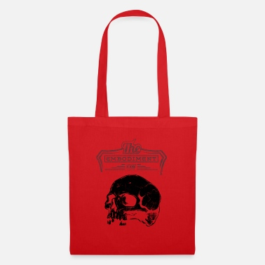 Heavy Metal The Embodiment of Skull - BLACK - Tote Bag