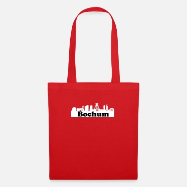 German Mining Museum Bochum + Skyline - Tote Bag