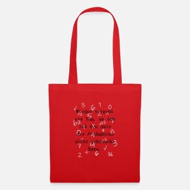 Pythagorean Pythagorean theorem - Tote Bag