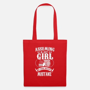 Just A Girl Just a girl - Tote Bag