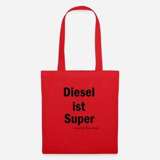 Diesel Bags & Backpacks - diesel - Tote Bag red