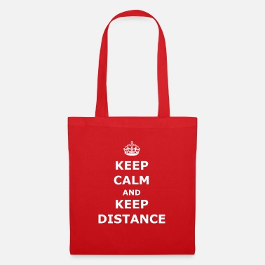 Keep Calm Keep Distance - Stoffbeutel