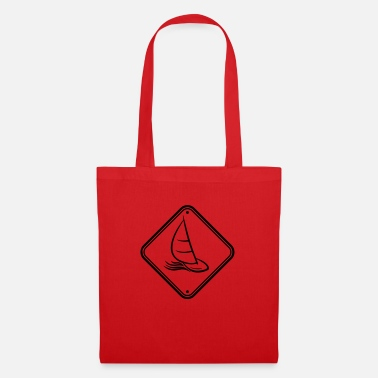 Swim zone hobby area shield caution warning danger a - Tote Bag