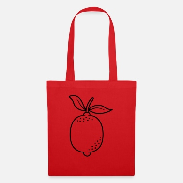 Comic Citrus lemon fruit - Tote Bag