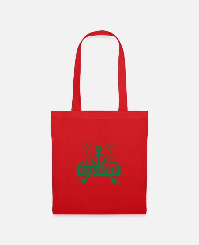 Water Bags & Backpacks - Summer Anchor - Tote Bag red