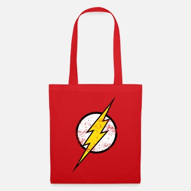 Officialbrands DC Comics Justice League Flash Logo - Stoffbeutel
