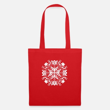 Viking Scandinavian Pattern Folklore Floral Floral - Tote Bag