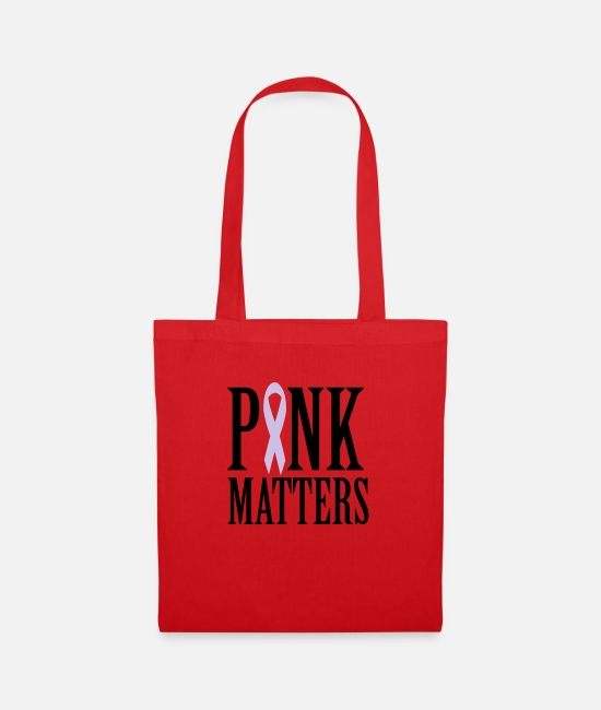Tits Bags & Backpacks - Pink Matters - Tote Bag red