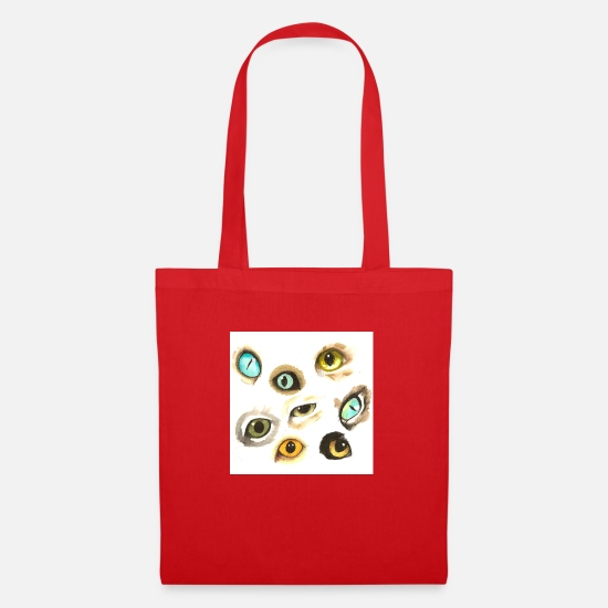 Colour Bags & Backpacks - chat - Tote Bag red