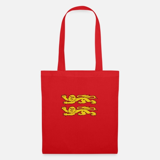 Leopard Bags & Backpacks - lions - Tote Bag red